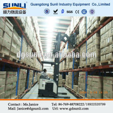 storage double deep selective pallet rack